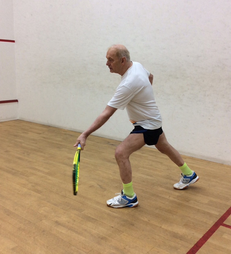 RAcketball coaching and excercise in Bolton